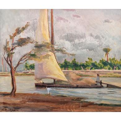 Barcă pe Nil