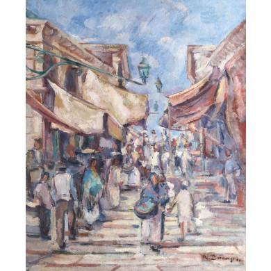 Piață în Veneția