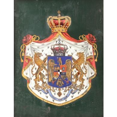 Stema regală a României Mari