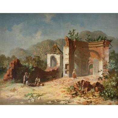 Ruine pe Valea Oltului