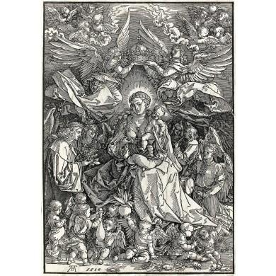 Fecioara cu Pruncul încoronată de îngeri