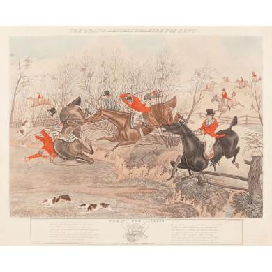 O întrecere aprigă (Marea vânătoarea de vulpi din Leicestershire)
