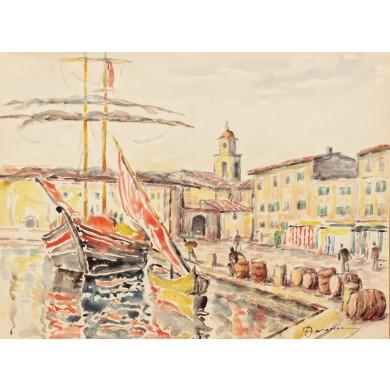 În port la Saint Tropez