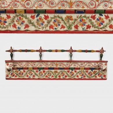 Cuier pictat secuiesc, atelier Huedin, începutul sec. XX