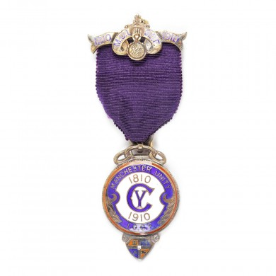 "Ordin masonic din argint aurit al ""Independent Order of Oddfellows"", 1910"