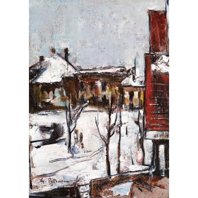 Iarnă în București