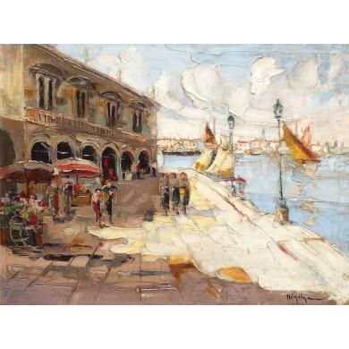 Piaţetă la Veneţia