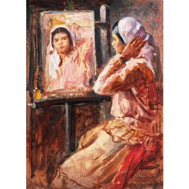 La oglindă