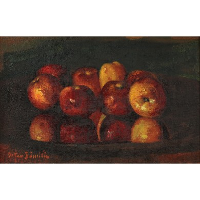 Platter with Apples