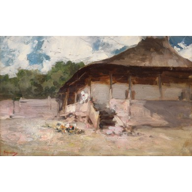 Peasants' house at Agapia