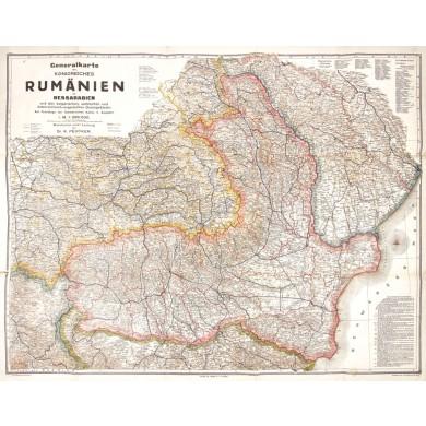 Image result for harta romaniei 1916
