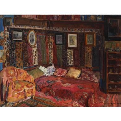 Interior în casa artistului