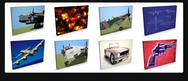 Other Canvas Art Prints available