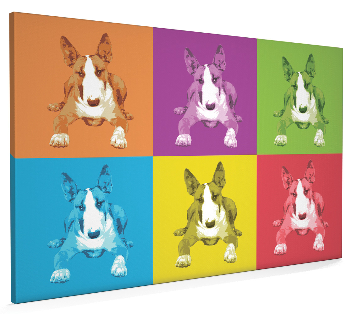ENGLISH BULL TERRIER PUPPIES NEW GIANT POSTER WALL ART PRINT PICTURE G123
