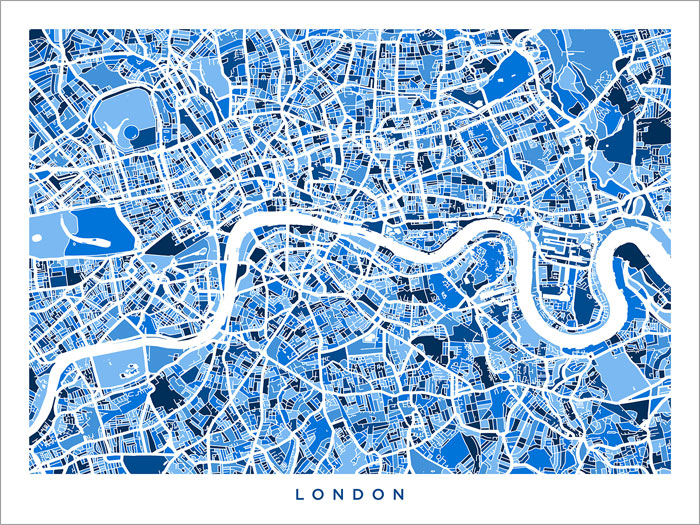 London England City Map.Details About London England City Map Poster Art Print 499