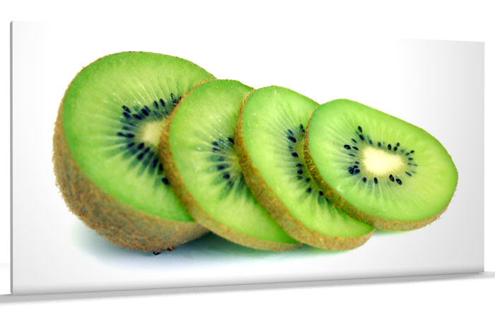 Kiwi Fruit Sketch Kiwi Fruit Canvas Art Print