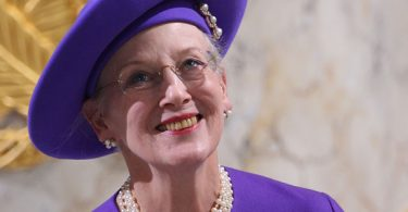 COPENHAGEN, DENMARK - JANUARY 15: Queen Margrethe II of Denmark attends a celebratory service to mark her 40 years on the throne at Christiansborg Palace Chapel on January 15, 2012 in Copenhagen, Denmark. (Photo by Chris Jackson/WireImage)