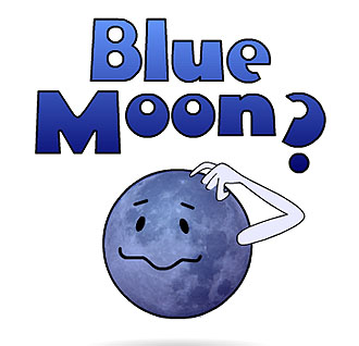 puzzled blue moon