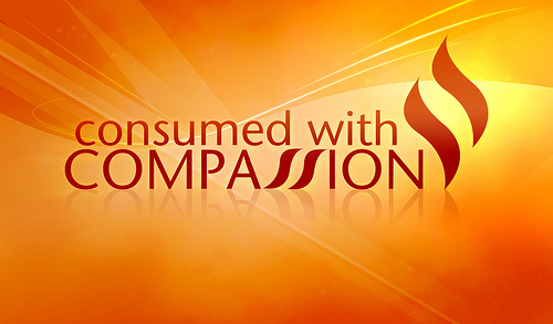 consumed with compassion