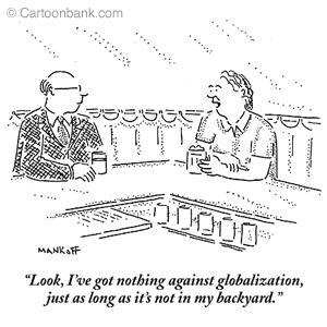 Globalisation begins at home!
