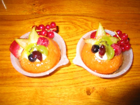 rum baba - the way to a man's heart!