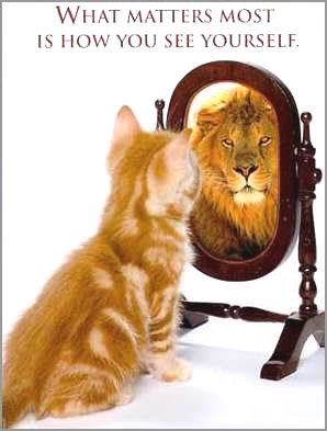 see yourself as a lion!