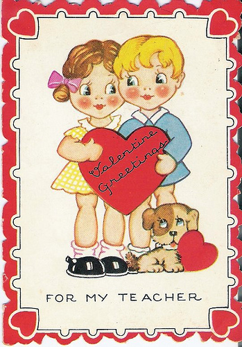 Happy Valentine's Day Teacher!