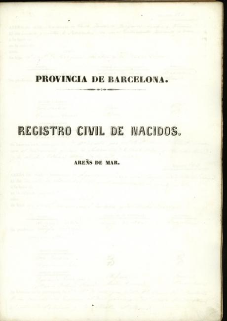 Registre civil de naixements de 1842 a 1843