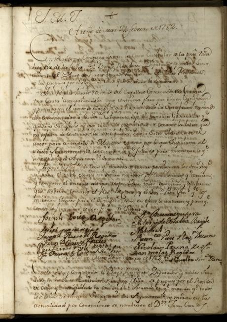 Llibre d'actes de 1782 a 1807