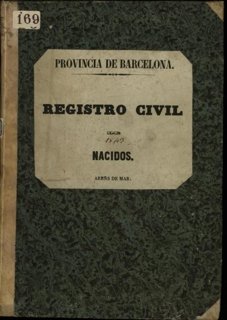 Registre civil de naixements de 1843