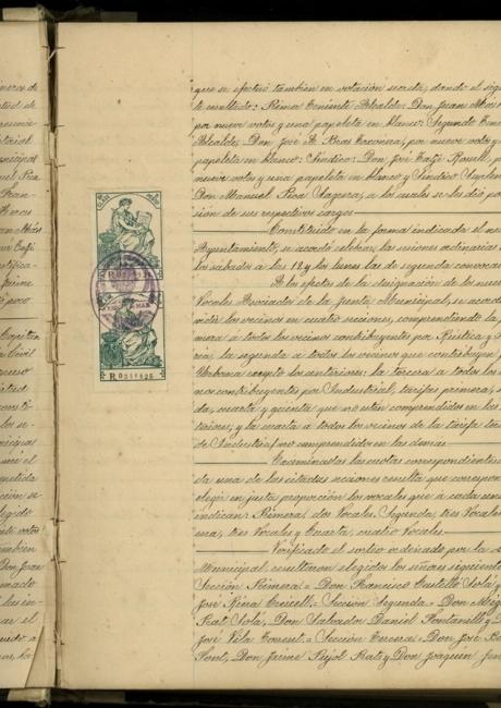 Llibre d'actes de 1923 a 1931