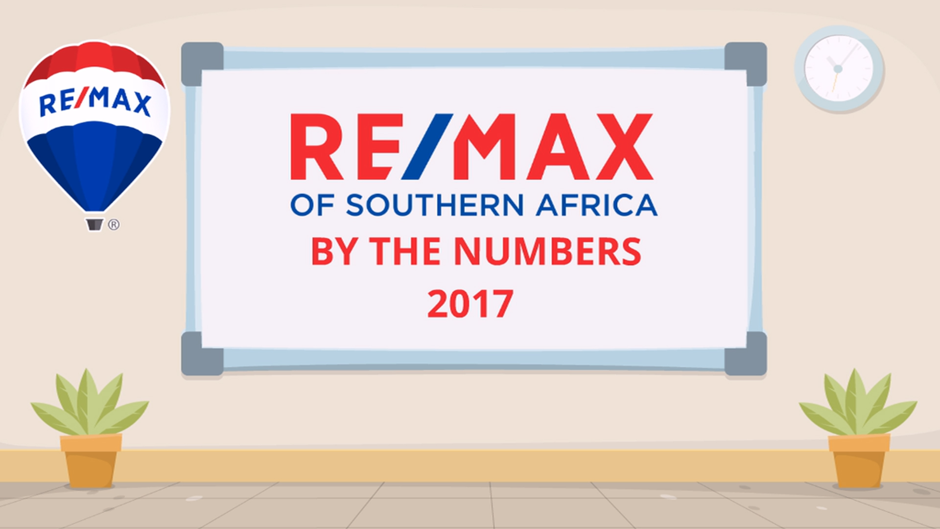 RE/MAX BY THE NUMBERS 2017