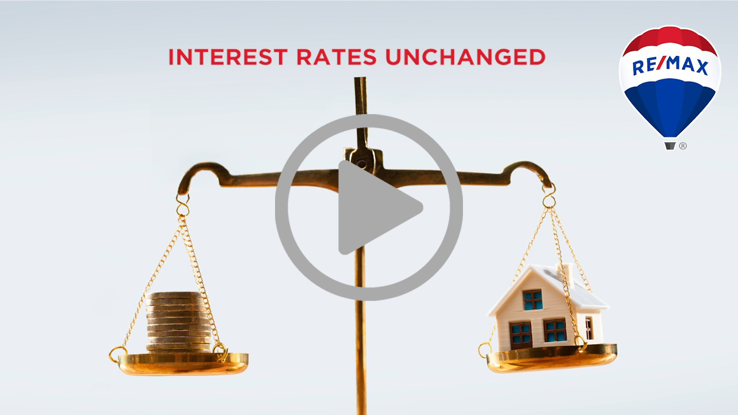 MPC ANNOUNCES GOOD NEWS FOR HOUSING MARKET:  INTEREST RATES UNCHANGED