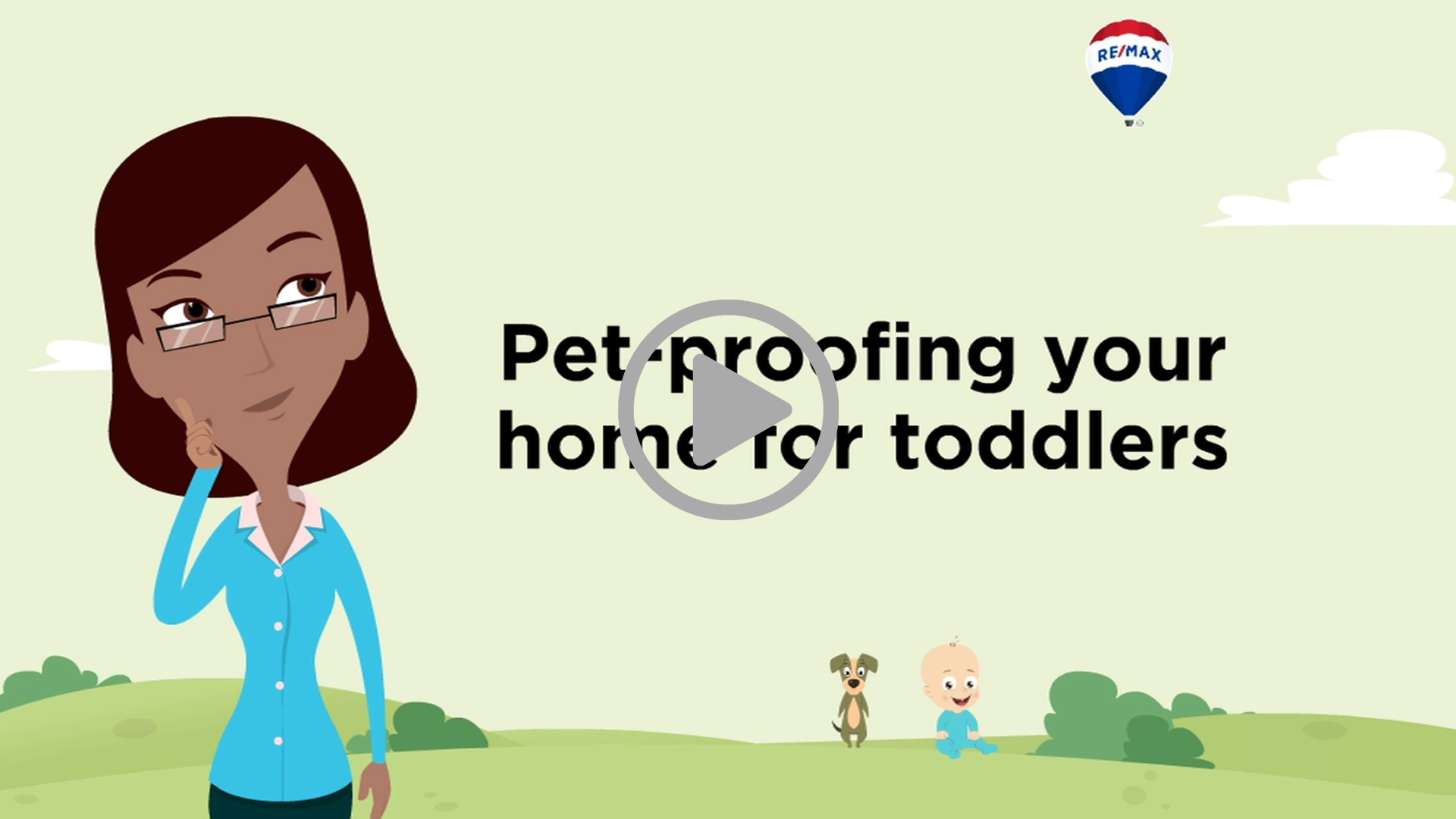 PET-PROOFING YOUR HOME FOR TODDLERS