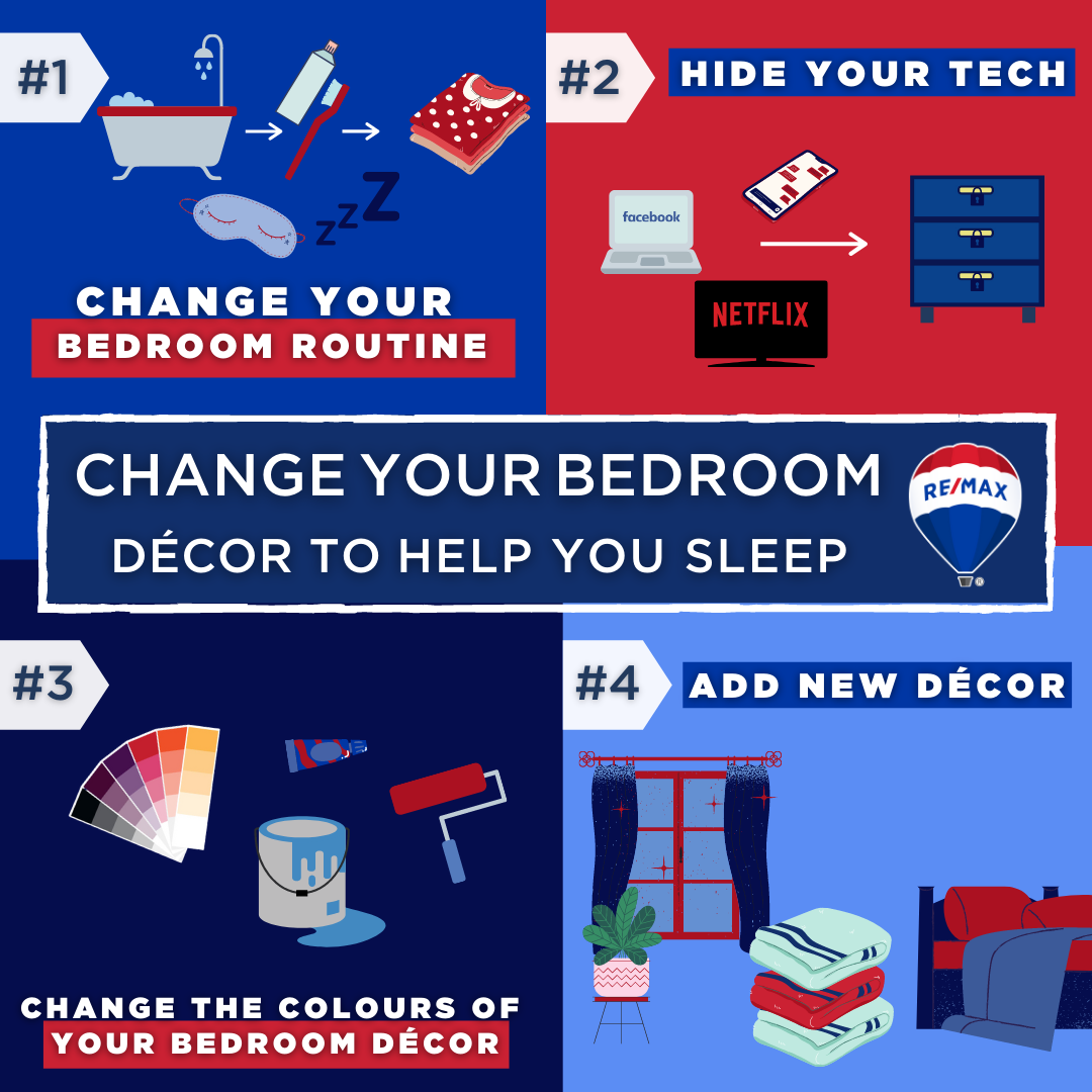 CHANGE YOUR BEDROOM DÉCOR TO HELP YOU SLEEP