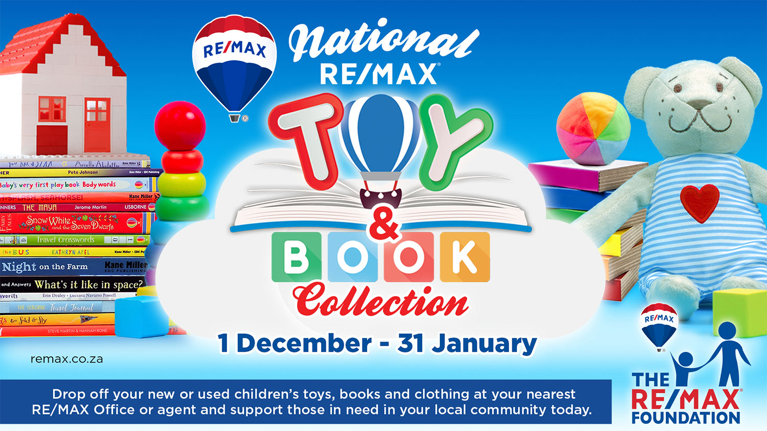 RE/MAX OFFICES ACT AS DONATION DROP-OFF ZONES THIS DECEMBER