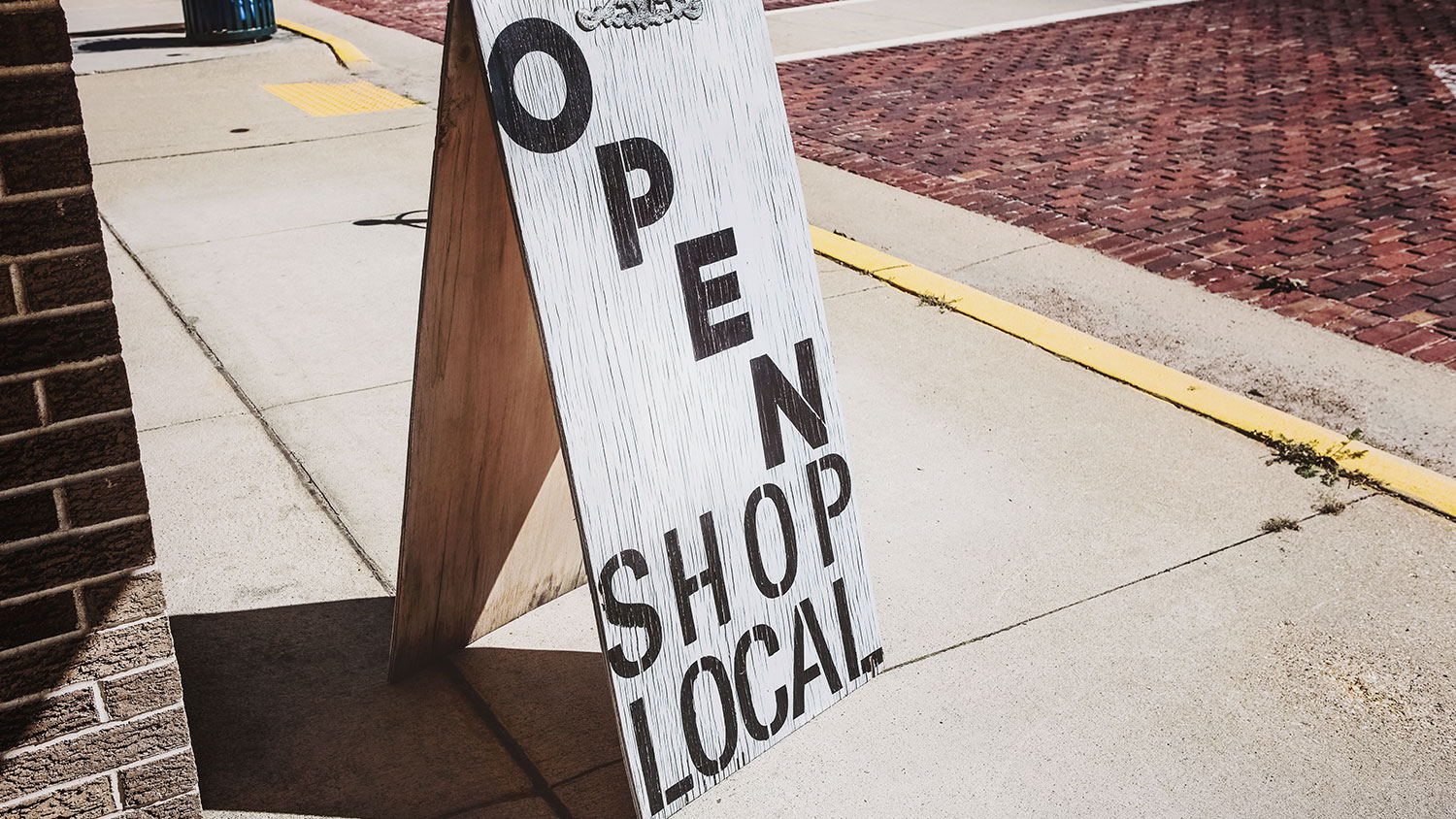 SUPPORT LOCAL STORES TO INCREASE PROPERTY VALUES