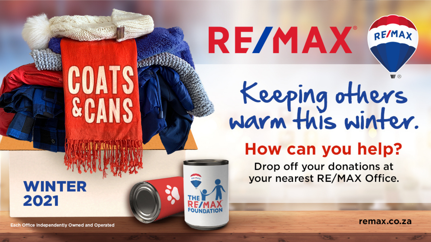 CHARITABLE WAYS TO HELP YOUR COMMUNITY THIS WINTER