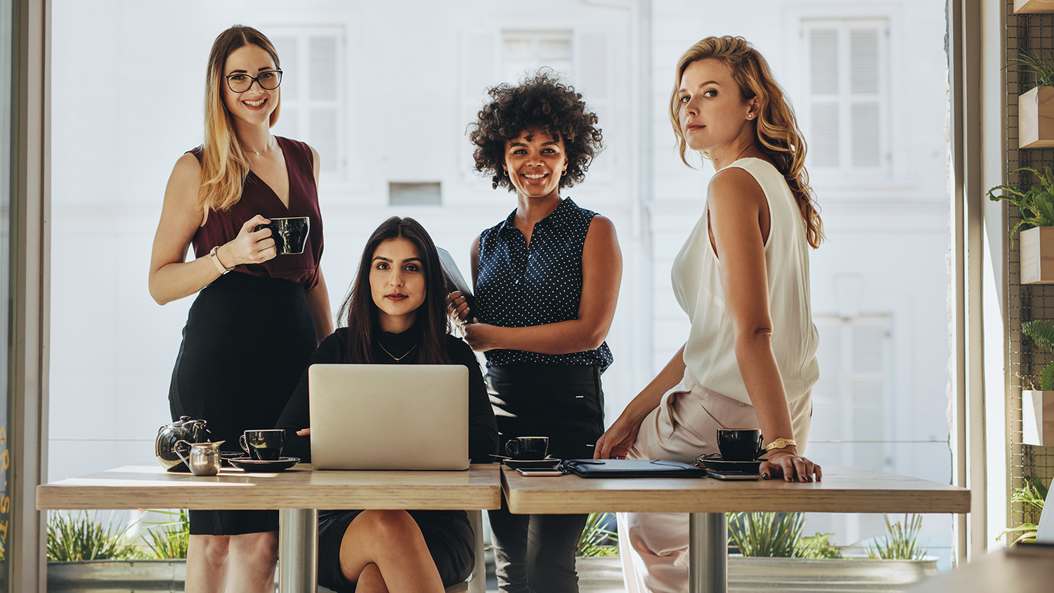 WHERE ARE WOMEN IN BUSINESS TODAY?