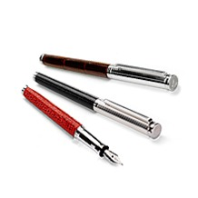 Silver & Leather Pens. Homeware & Gifts from Aspinal of London