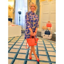 Mini Marylebone Tote in Deer Saffiano. Handbags & Clutches from Aspinal of London