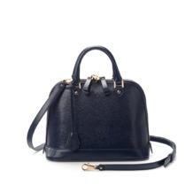 Mini Hepburn Bag in Navy Lizard. Handbags & Clutches from Aspinal of London