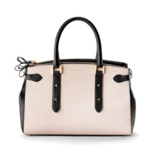 Brook Street Bag in Monochrome Saffiano. Handbags & Clutches from Aspinal of London