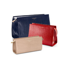Make Up Bags & Cases. Ladies Collection from Aspinal of London