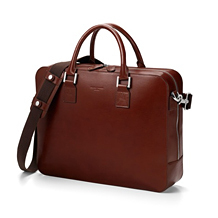 Large Mount Street Laptop Bag. Office & Business from Aspinal of London