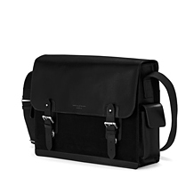 The Large Shadow Messenger Bag. Business Cases from Aspinal of London