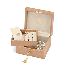 Bijou Jewellery Box. Leather Jewellery Boxes from Aspinal of London