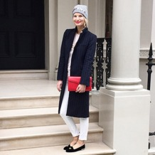 Manhattan Clutch in Berry Lizard. Handbags & Clutches from Aspinal of London