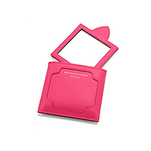 Compact Travel Mirror. Beauty Accessories from Aspinal of London