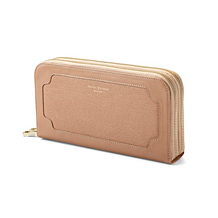 Marylebone Double Zip Purse with Phone Pocket. Ladies Wallets & Purses from Aspinal of London